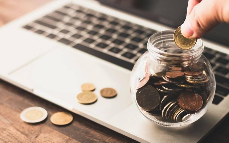 Spara småpengar